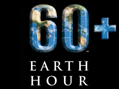 Campagnebeeld Earth Hour