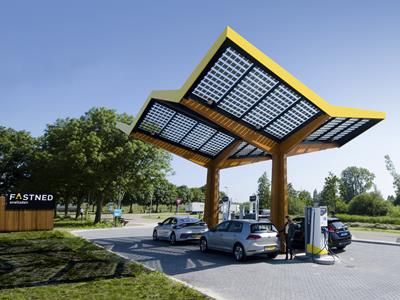 Fastned laadstation